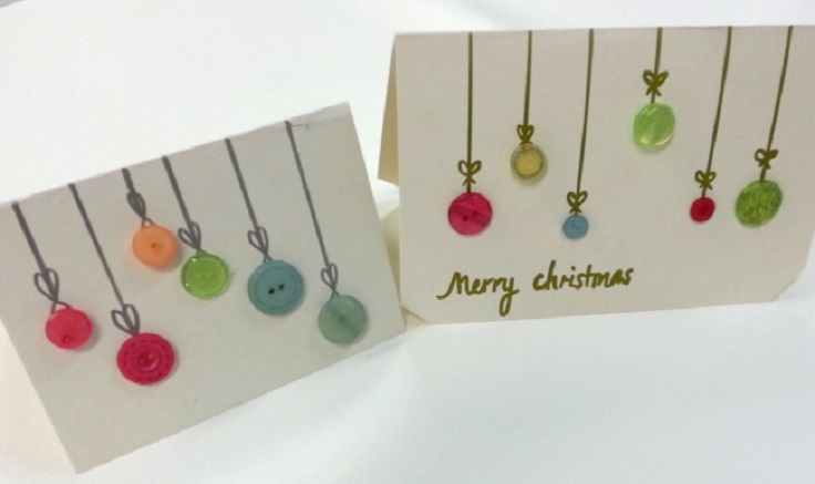 Creative Card Making Ideas Home Part - 30: Christmas Cards To Make At Home