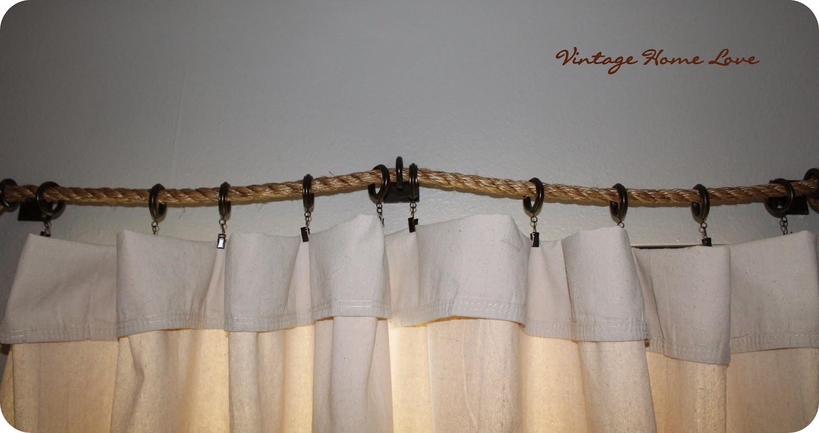 cheap diy curtain rods