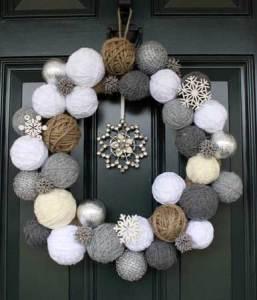Cute Christmas wreaths