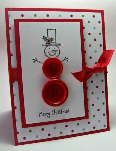 Cute DIY holiday cards layout