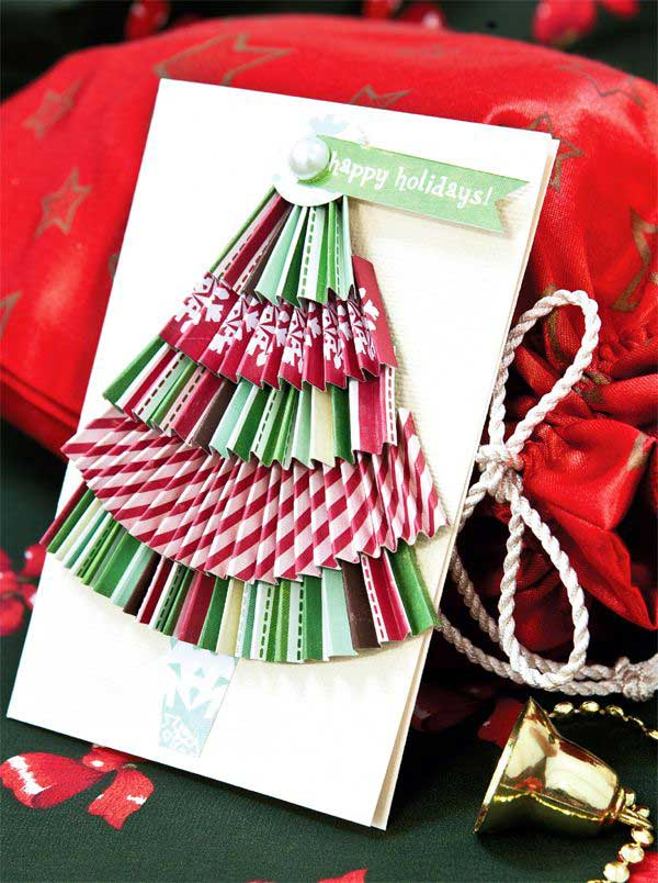 Christmas Card Making Ideas 2014 Part - 40: DIY Christmas Cards 2014