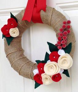 DIY Christmas wreaths 2014
