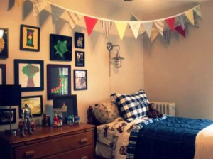 DIY bedroom decor on budget