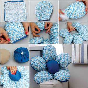 DIY cushion tutorial step by step