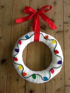 DIY felt Christmas wreaths