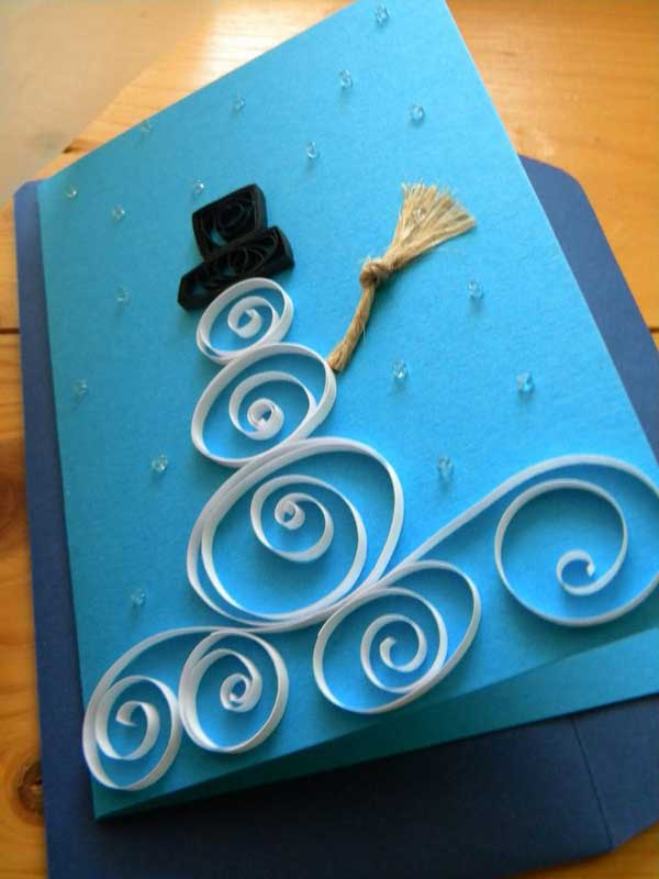 Ideas For Making Christmas Cards At Home Part - 26: DIY Holiday Cards 2014