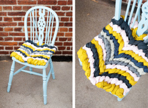 DIY patio chair cushions ideas