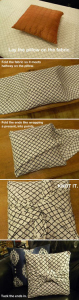 DIY patio cushions tutorial
