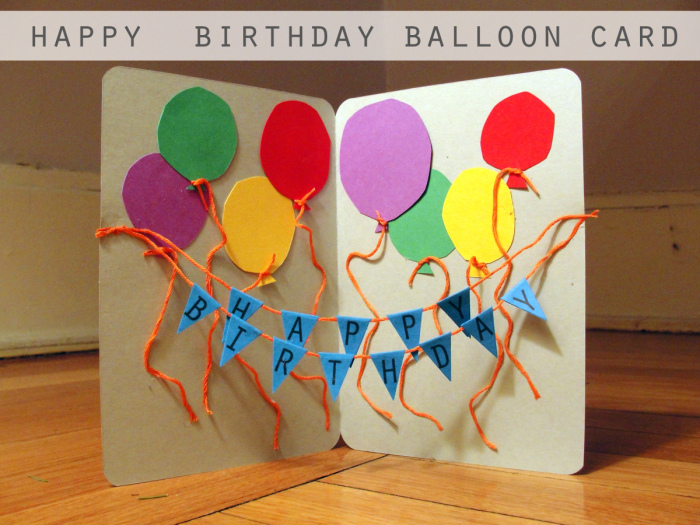 Ideas For Making Birthday Cards For Friends Part - 26: DIY Popup Birthday Cards