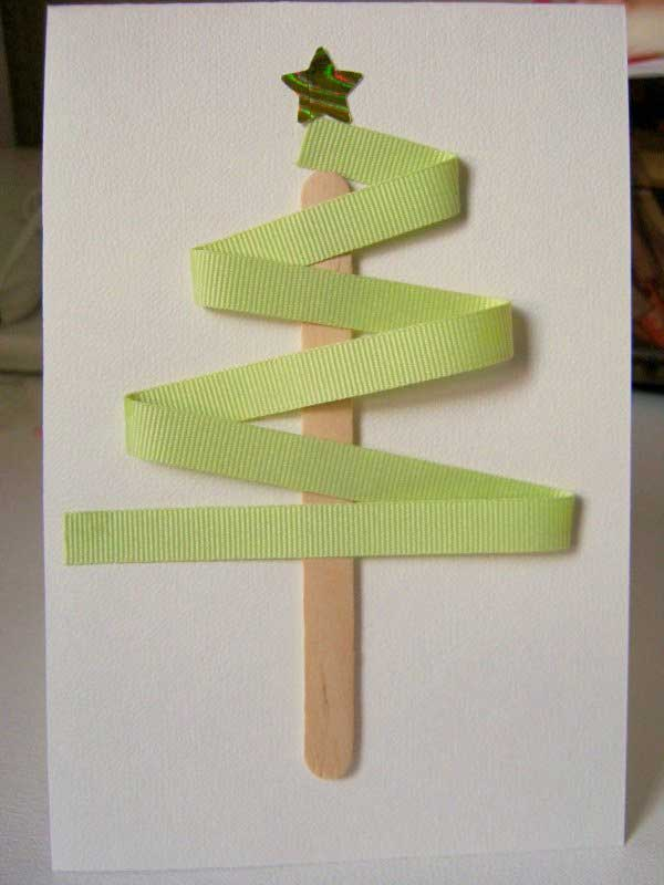 Christmas Card Making Ideas 2014 Part - 28: Inexpensive DIY Christmas Cards. DIY Christmas Cards Ideas