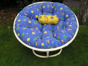 Round patio cushions