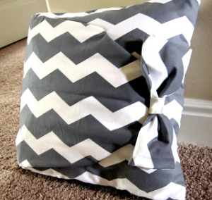 No Sew chair cushions DIY