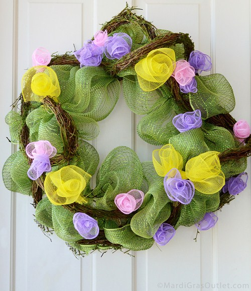 Diy Spring Wreath Ideas 2015