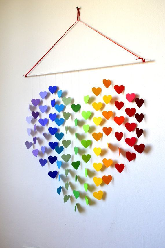 Diy wall art decor ideas 2015 for Heart decorations for the home