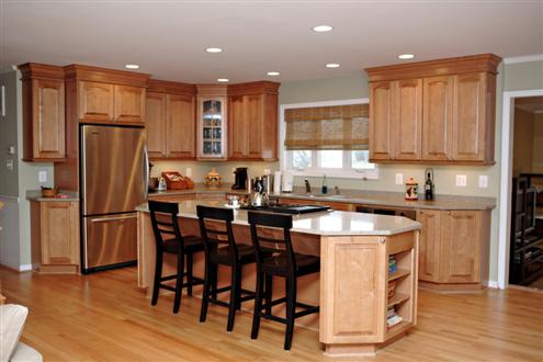 Kitchen design ideas for kitchen remodeling or designing for Pictures of kitchen plans
