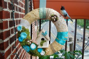 How to make wreaths for spring