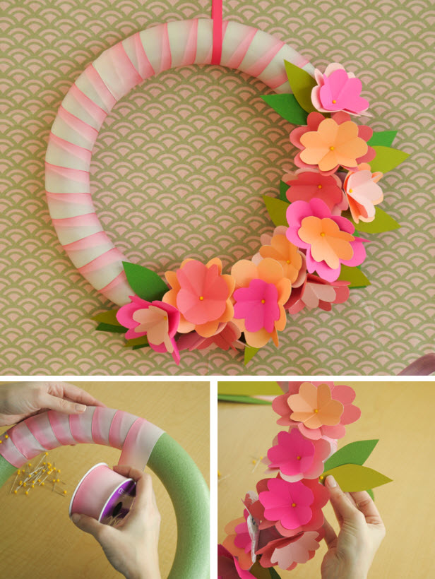 diy spring wreath ideas 2015