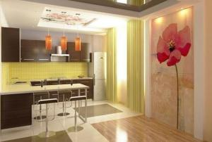 Modern kitchen designing