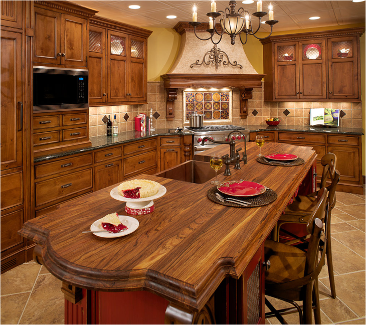 Kitchen design ideas for kitchen remodeling or designing for Tuscan kitchen design