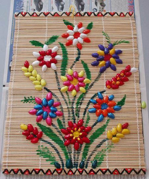 Diy wall art decor ideas 2015 for Wall hanging out of waste material
