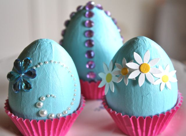 Easy diy easter decorations 2015 for Easter egg ideas