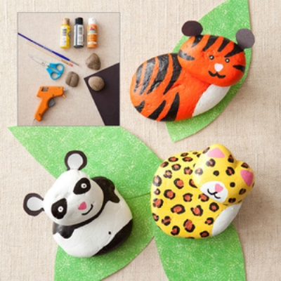 have added pictures of rock crafts for kids they will help your kids
