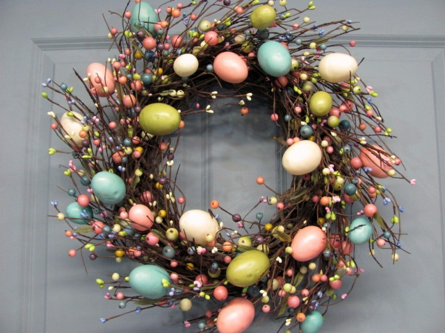 Easter Egg Wreath Pictures to pin on Pinterest