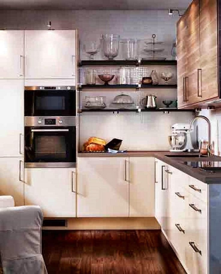 Modern small kitchen design ideas 2015 for Small kitchen shelves