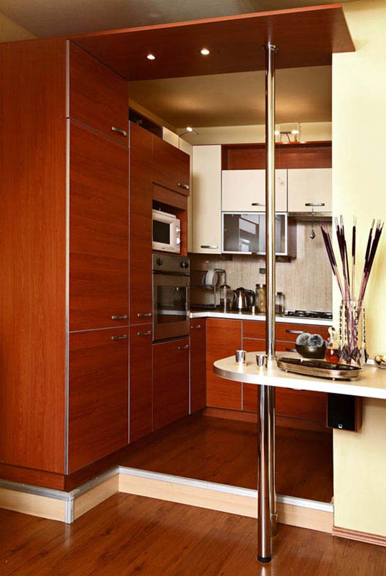 Modern small kitchen design ideas 2015 for Kitchen interior designs for small spaces