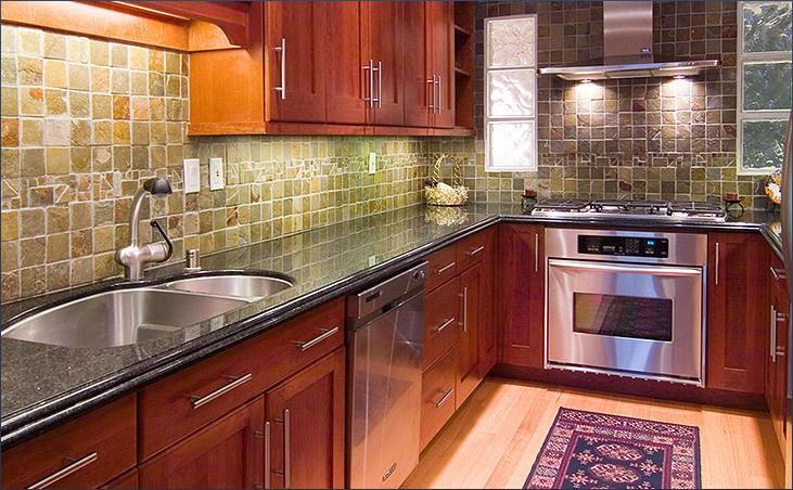 Kitchen design i shape india for small space layout white for Small kitchen design ideas gallery