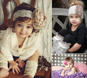 DIY Baby headband ideas