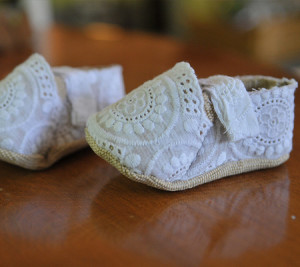 DIY Baby shoes 2015