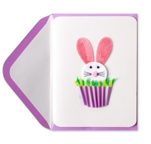 DIY Bunny Easter card ideas