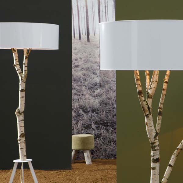 Diy Floor Lamp With Wood