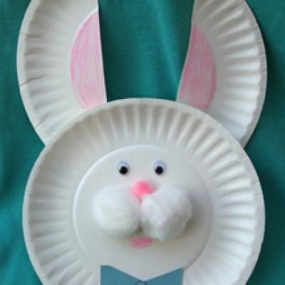 Easter Crafts For Toddlers From Paper Plates