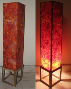 How to make DIY floor lamp