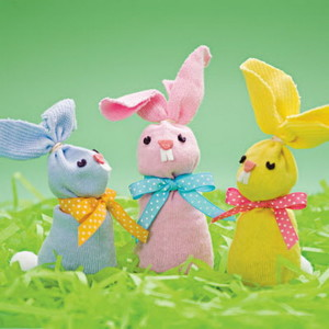 Recycled Easter crafts for toddlers