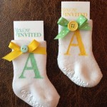 Easy baby shower invitations DIY