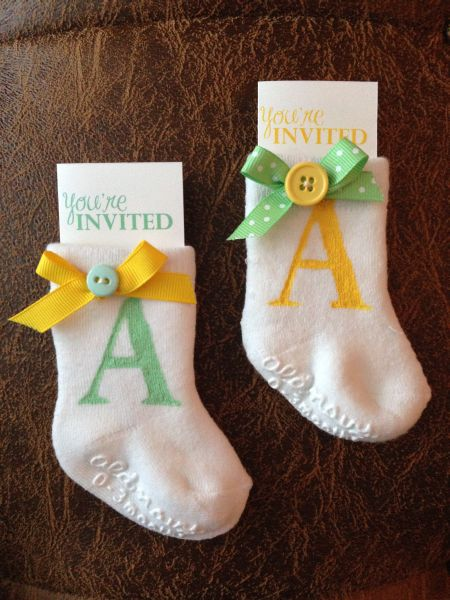 Wonderful Easy Baby Shower Invitations DIY