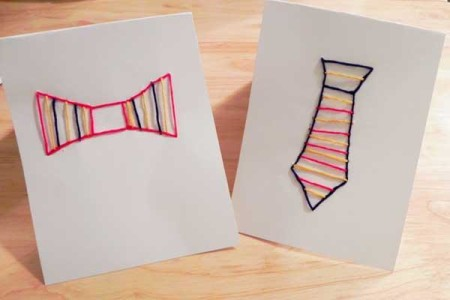 DIY Fathers day cards 2015