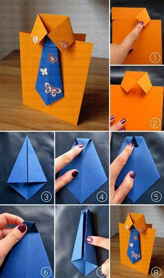 Card Making Ideas Step By Step Part - 29: DIY Fathers Day Cards Tutorials