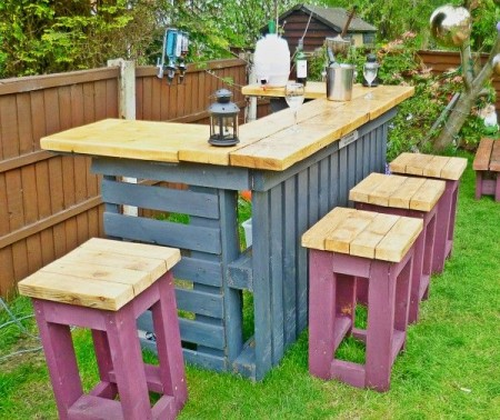 DIY patio table ideas