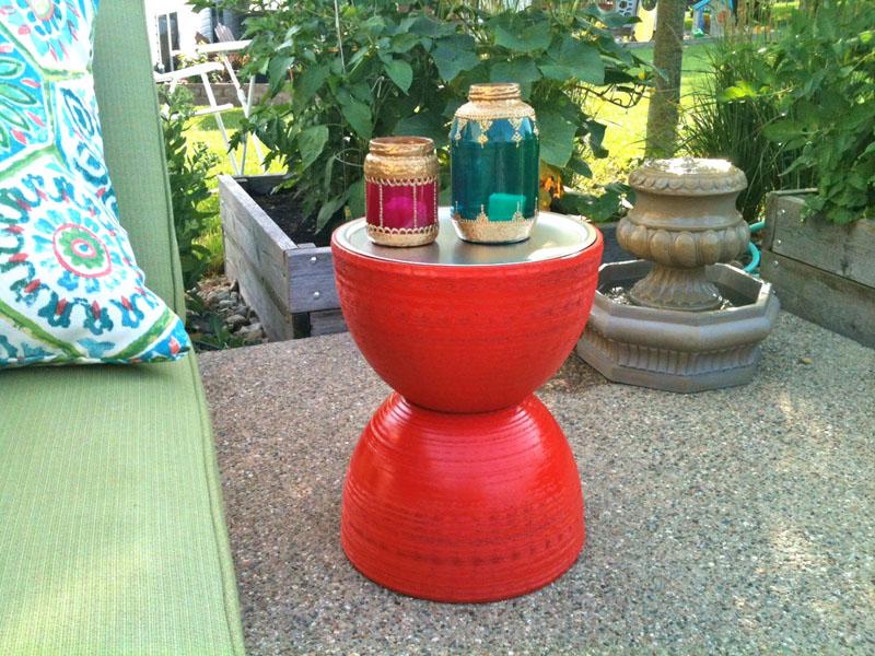 Inspiring Diy Patio Side Table Design 391