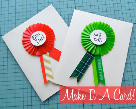 Easy handmade fathers day cards