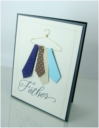 Handmade fathers day cards 2015