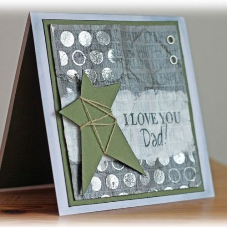 Handmade fathers day cards DIY