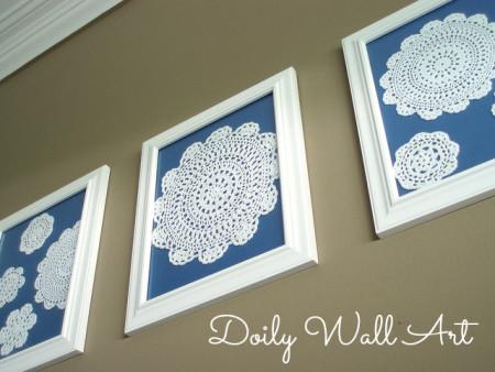 Handmade wall decor crafts