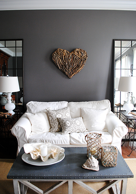 Diy wall art for living room - Decorated walls living rooms ...