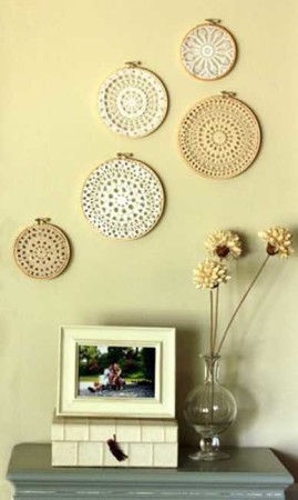 Cheap DIY wall decor