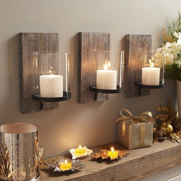 Diy Wall Sconces For Candles : Easy DIY Wood Projects for Beginners